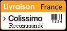 Livraison par Colissimo Recommandé de La Poste