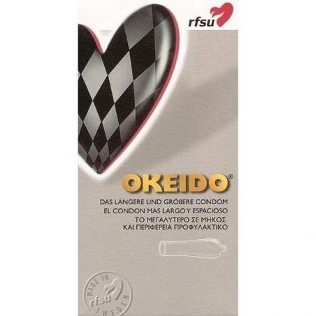 Boite de 10 Préservatifs Okeido Grande RFSU