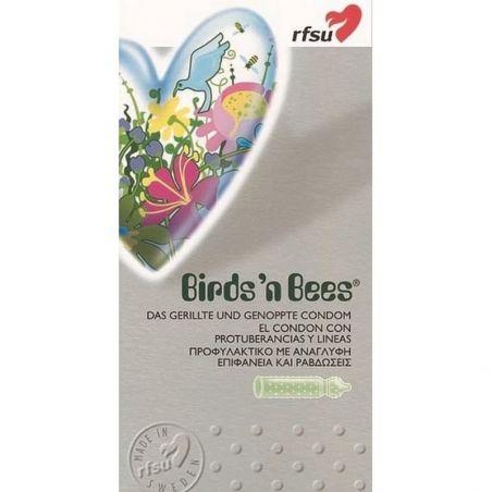 Boite de 10 Préservatifs Birdsn Abeilles RFSU