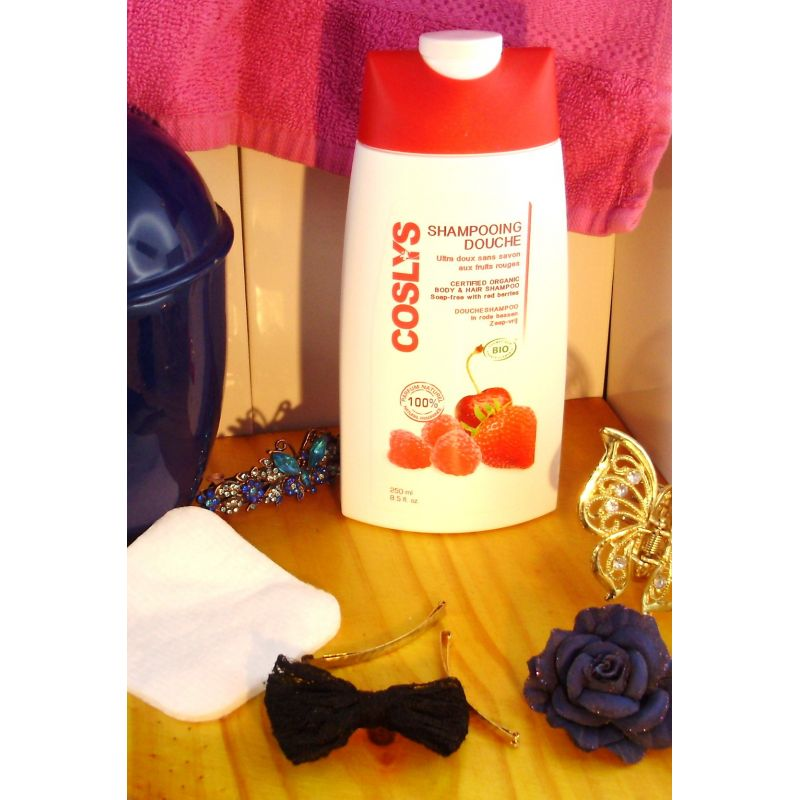 Shampooing douche Fruits rouges Coslys