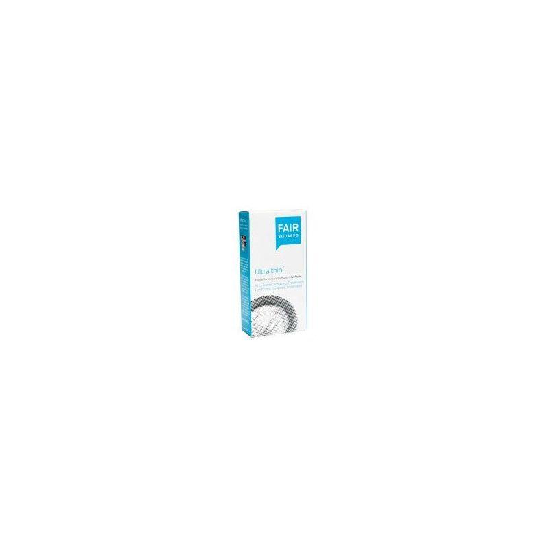 Fair Squared Ultra Thin Boite de 10 préservatifs