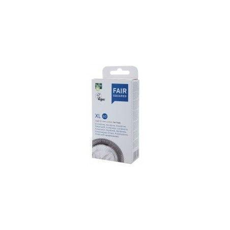 Fair Squared XL 60 boite de 8 préservatifs en latex